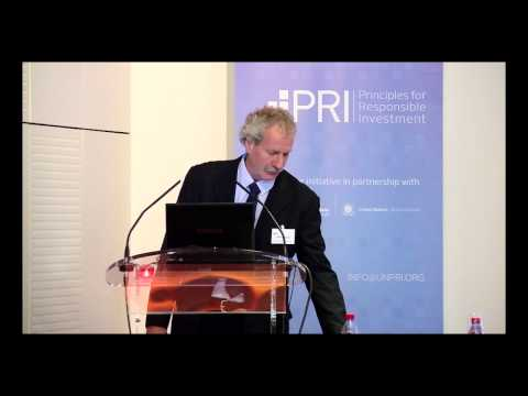 PRI - CDC KEYNOTE ADDRESS, Market implications of a firm's environmental performance