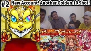 Monster Strike #2 New Rerolled Account & Golden 10 Shot Hatcher 【モンスト海外版】