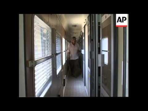 Saddam's luxury train to return to service
