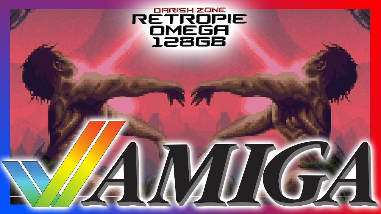 DZ RetroPie OMEGA 128GB - Amiga (Best Pi Selection ever) - смотреть