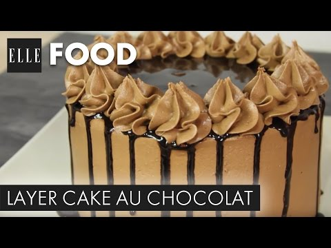 recette-:-layer-cake-au-chocolat-(avec-l'atelier-de-roxane)┃elle-cuisine