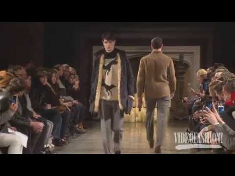 Billy Reid Menswear Fall 2014 Interviews & runway | Videofashion