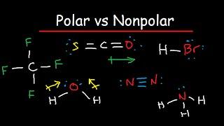 polar and nonpolar molecules is it polar or nonpolar