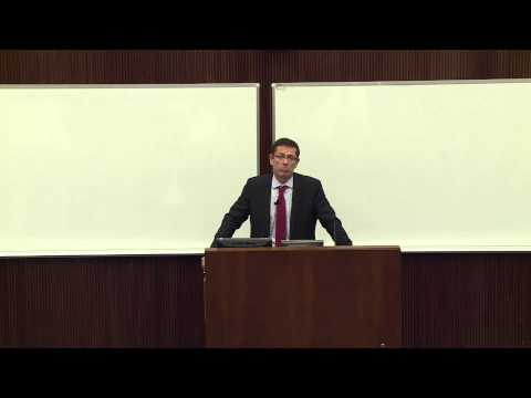 Public Lecture by Ivan Simonovic - Assistant Secretary-General for Human Rights, OHCHR, New York