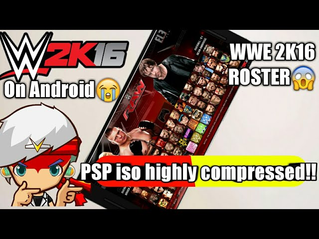 200MB] How To Download WWE 2K15 PSP iso Highly Compressed
