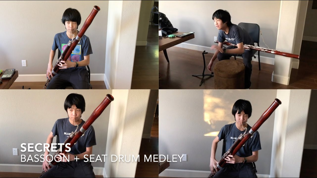 """""""Secrets"""" by One Republic I Bassoon (cover)"""