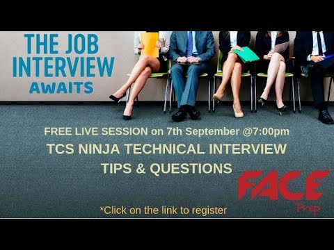 TCS NQT Interview Questions for TCS National Qualifier Test