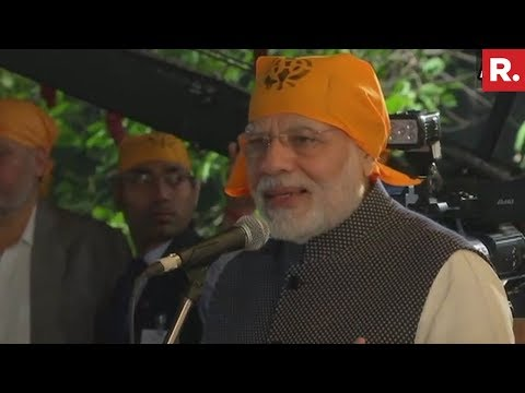 PM Narendra Modi Addresses Crowd At Gurupurab Celebrations In New Delhi