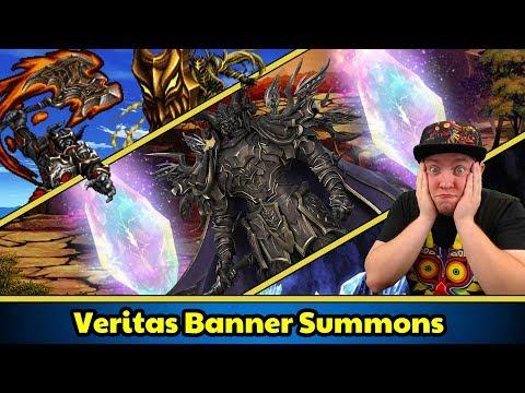 Final Fantasy Brave Exvius - Veritas Banner Pulls!