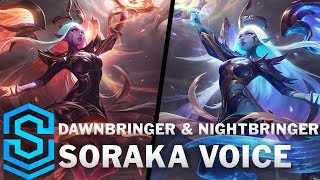 Voice - Dawnbringer & Nightbringer Soraka [SUBBED] - English