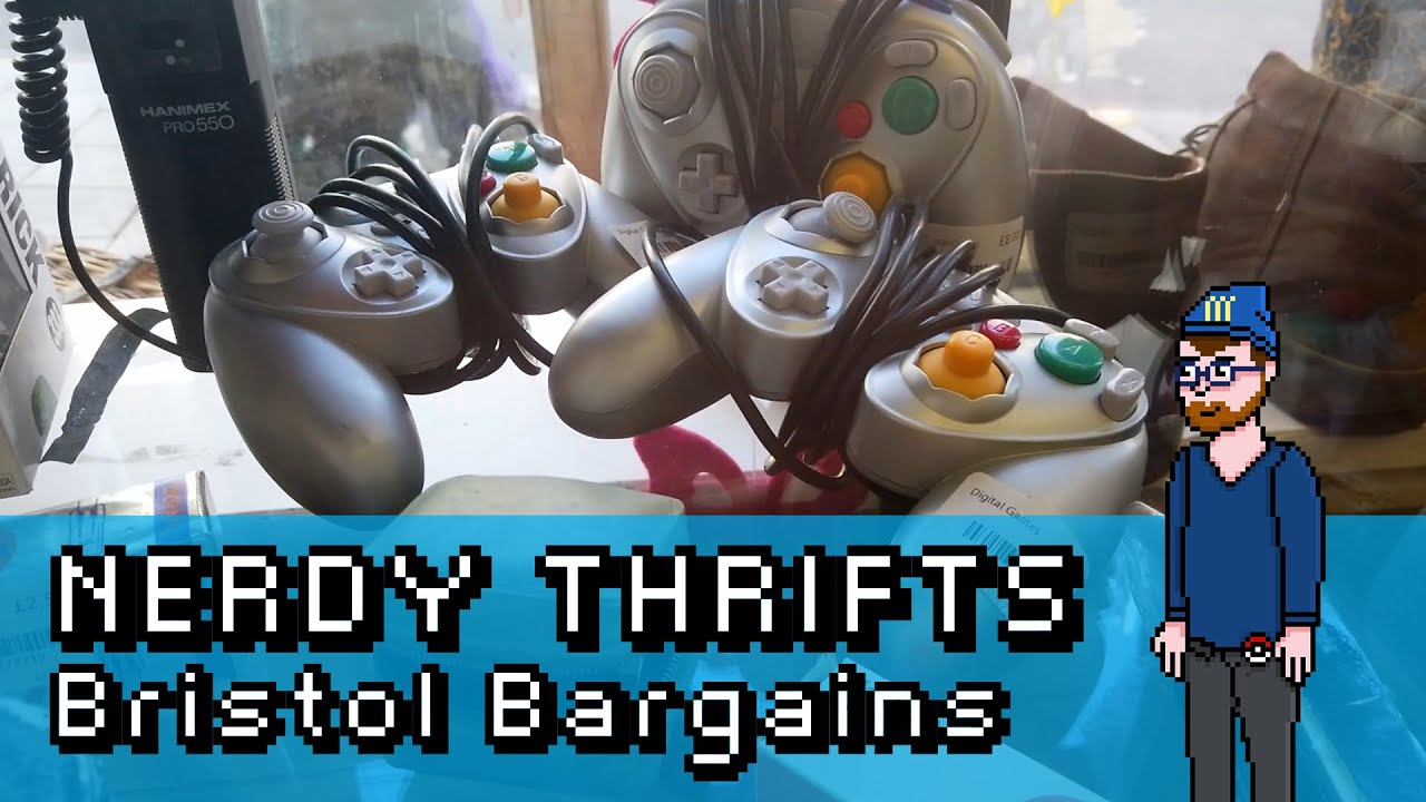 Download Retro Video Game Hunting UK - Bristol Bargains   Nerdy Thrifts   BestNerdLife