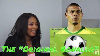 Clueless new American football fan reacts to Ronaldo el Fenomeno