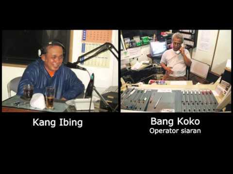 Kang Ibing - Siaran di Radio MARA Bandung (1)