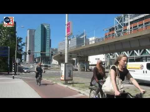 Cycling in The Hague (Netherlands)