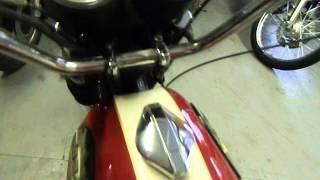 1969 bsa shooting star street motorcycle