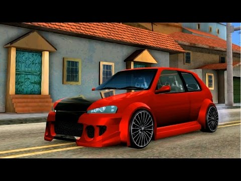 GTA San Andreas - Peugeot 106 Tuning EnRoMovies