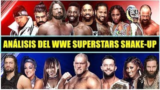 ANÁLISIS DE LOS CAMBIOS DEL WWE SUPERSTARS SHAKE-UP: ROMAN REIGNS A SMACKDOWN, AJ STYLES A RAW...