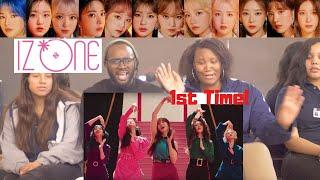 Gambar cover AMERICAN DANCER 1st Time Reacts to IZ*ONE 'FIESTA' MV