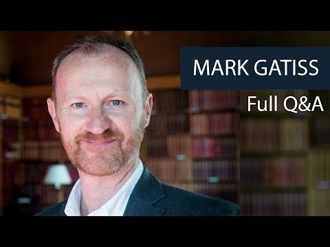 Mark Gatiss  Full Q&A  Oxford Union