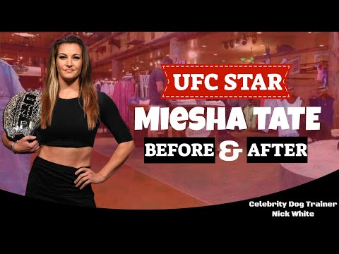 UFC Star Miesha Tate's Final Before/After Video with Testimonial! Celebrity Dog Trainer Nick White