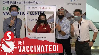 Media practitioners covering Tokyo Olympics get vaccine jabs