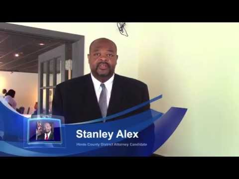 Elect Stanley Alexander District Attorney on August 4!