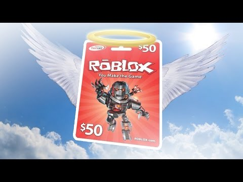 FREE $50 ROBLOX GIFT CARDS!! (WORKING 2017 FREE ROBUX ...