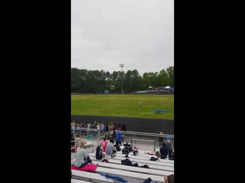 La plata High school girls 4x400 relay smac championships