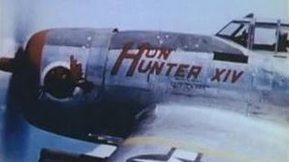 """ThunderBolt"" Operation Strangle; WW2 Fighter Pilot Plane camera strafing footage."