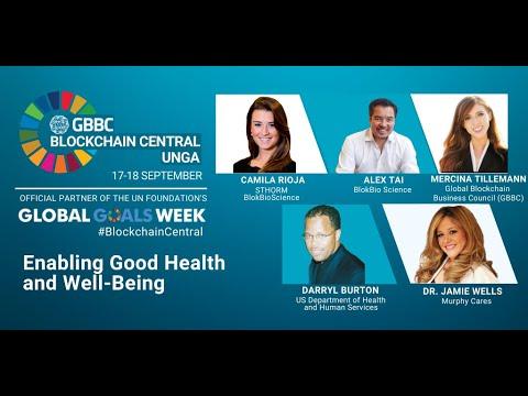 Enabling Good Health & Well Being - GBBC Blockchain Central 2020