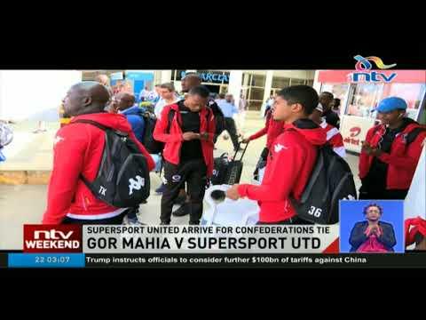 Supersport United arrive in Kenya for CAF clash against Gor Mahia