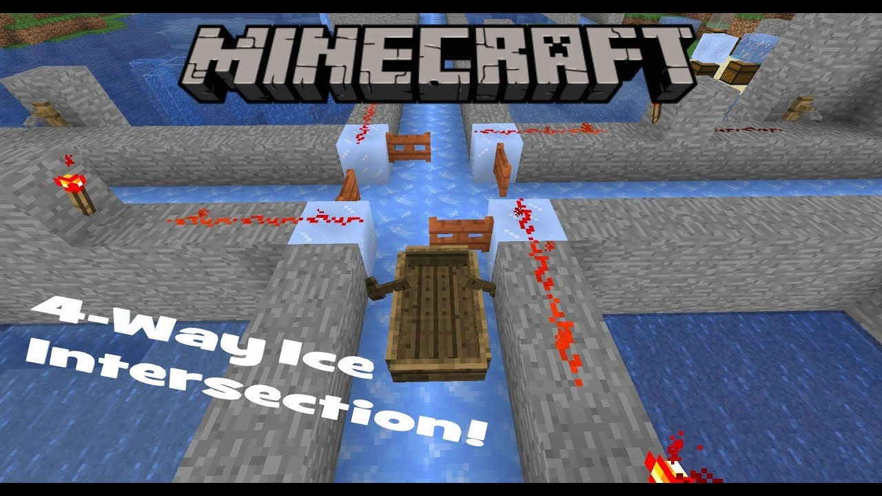 Easy Ice Tunnel Intersection In Minecraft 1 13 Youtube Minecraft channel i mostly showcase survival oriented farms on this channel and occasionaly do tutorials on them. easy ice tunnel intersection in minecraft 1 13