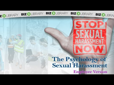 The Psychology of Sexual Harassment