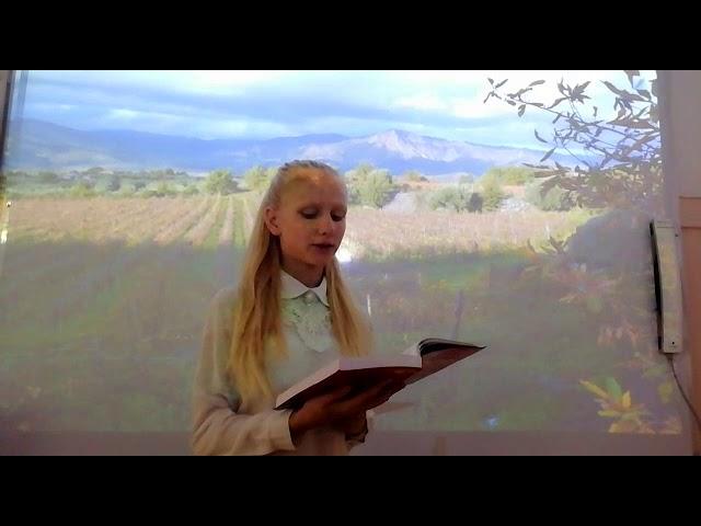Изображение предпросмотра прочтения – ЕвгенияКраснощекова читает произведение «Ася» И.С.Тургенева
