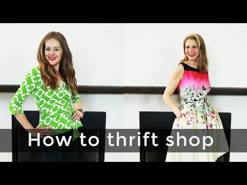 How to shop for women over 40 - How to thrift shop