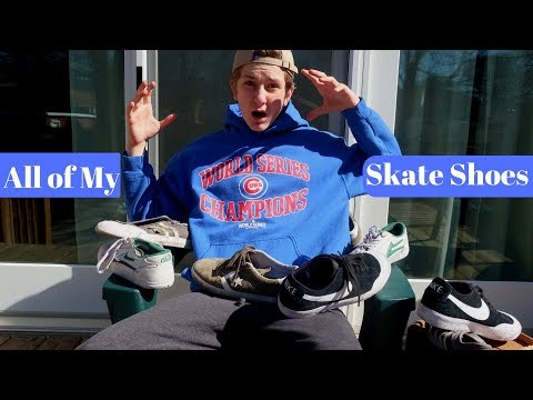 THE EVOLUTION OF SKATE SHOES