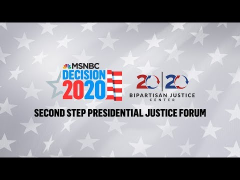 Watch Live: 2020 Democrats Speak At Justice Forum (Day 1) |