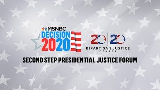 Watch Live: 2020 Democrats Speak At Justice Forum (Day 1) | MSNBC