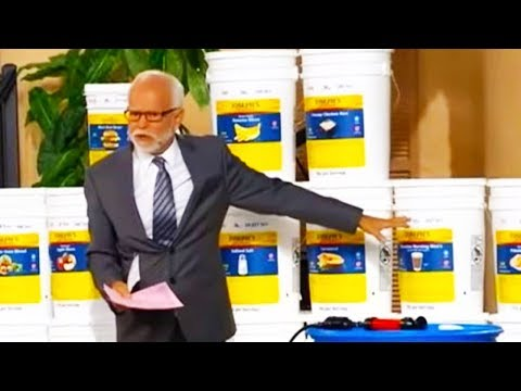 Jim Bakker Begs Rich People To Spend Millions On His Food Buckets