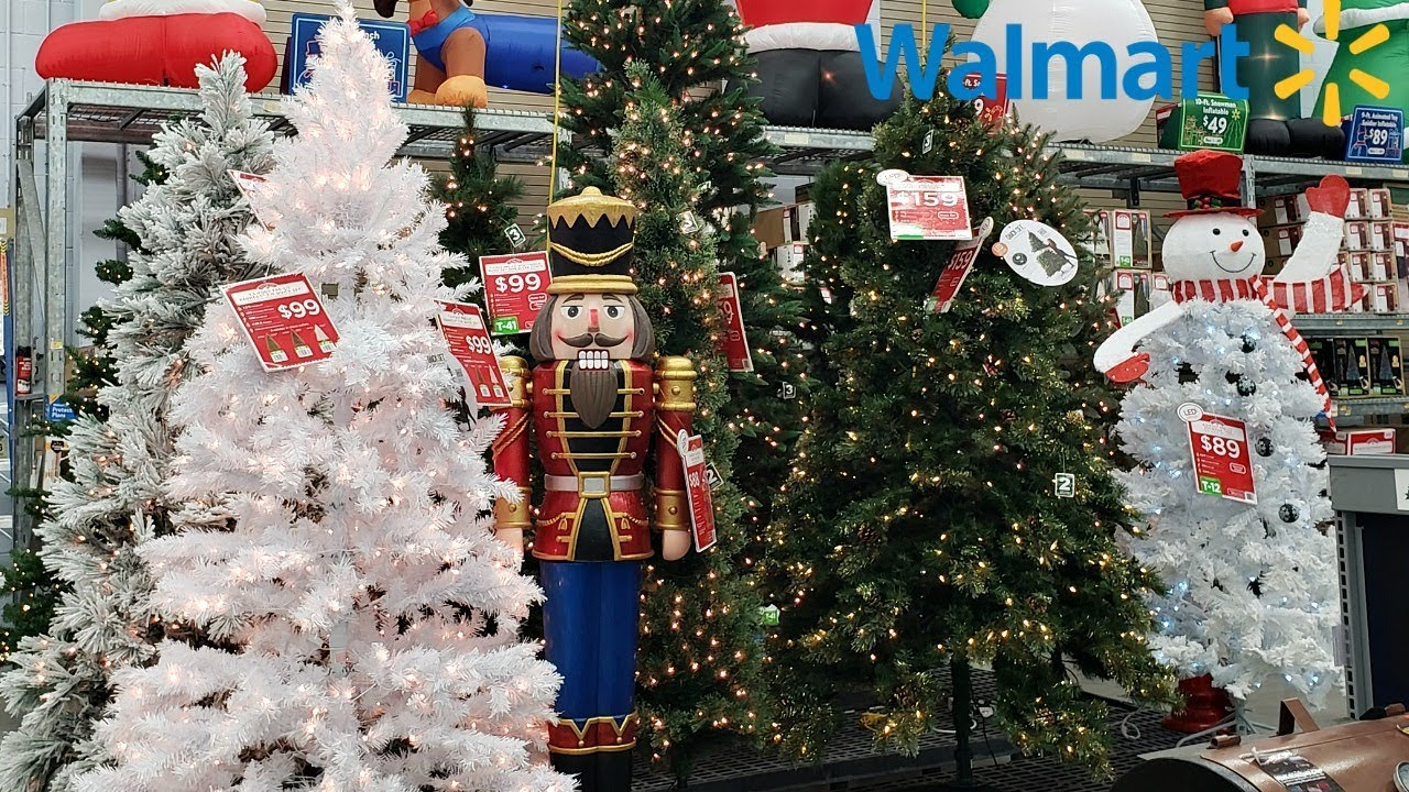 Walmart Christmas Decor Has Arrived Shop With Me 2018 Youtube