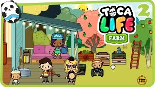 Toca Life: Farm (Toca Boca) Part 2 (House) - Best App for Kids