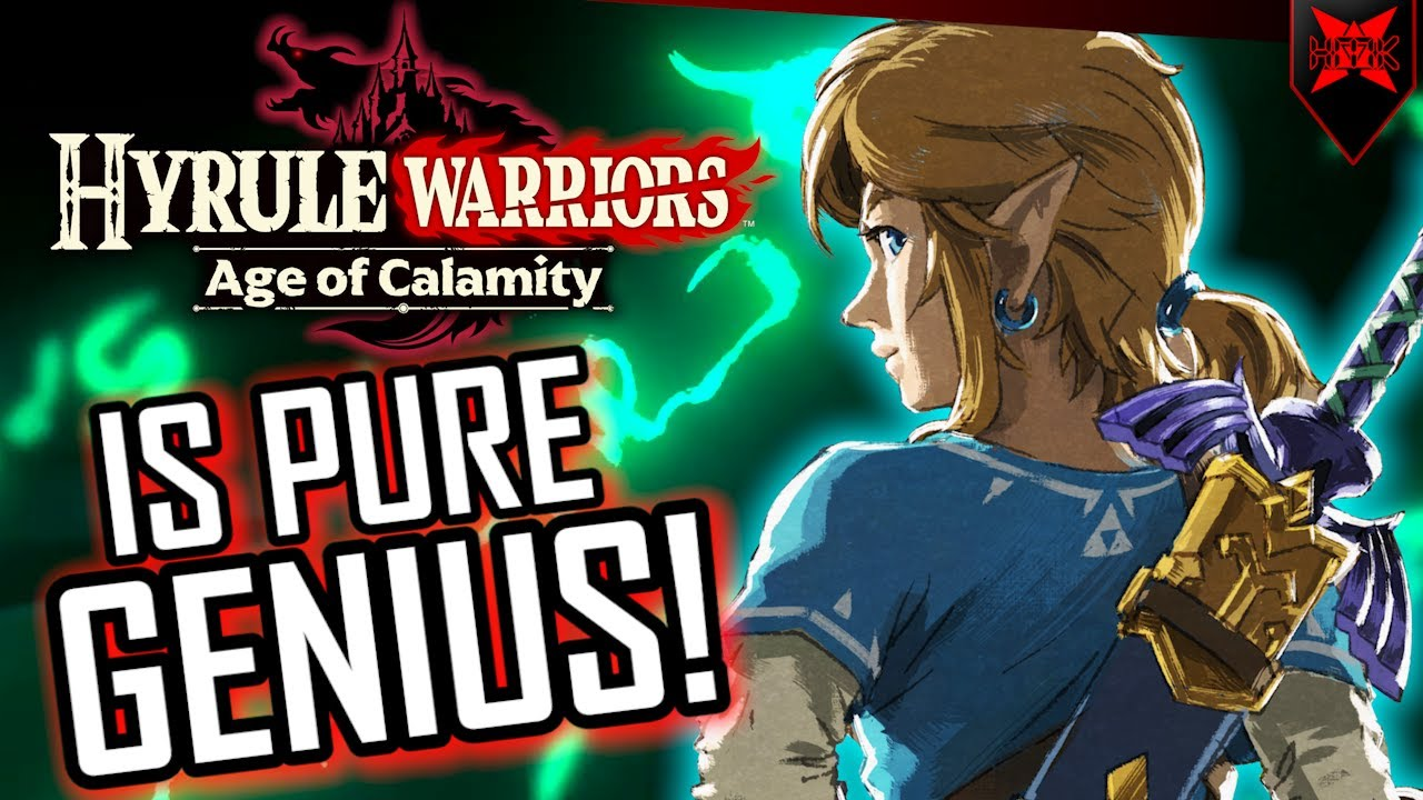 How Age Of Calamity Fits Into The Zelda Timeline Youtube