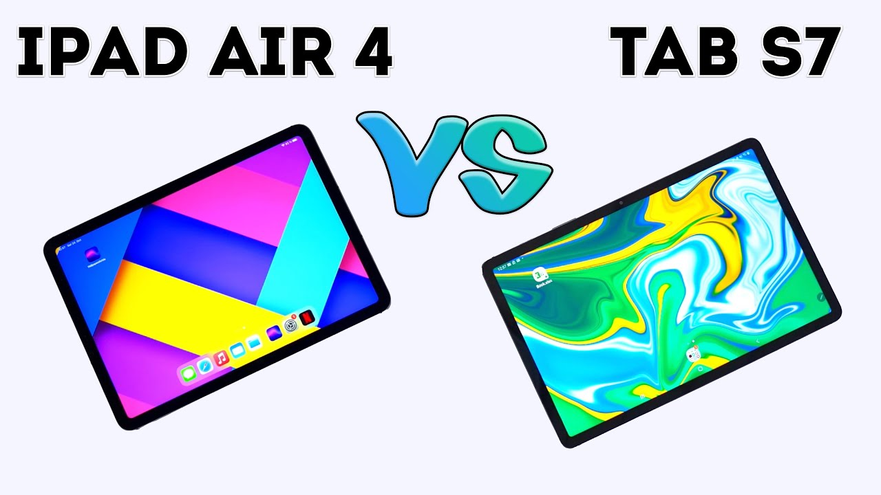 iPad Air 2020 vs Samsung Galaxy Tab S7 - (Apple vs Samsung)