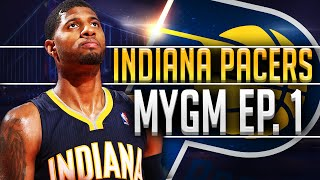 NBA2K16 Pacers MyGM #1 - GREAT TRADE TO START OUT THE SERIES!!