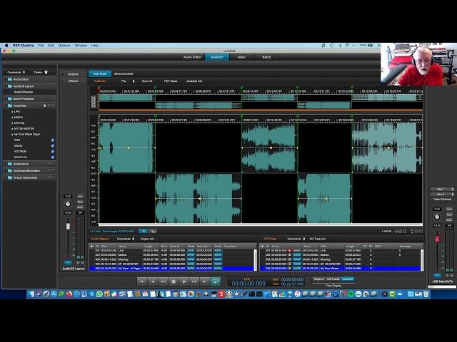 Stefano Daino | Mastering su MacOS, DSP Quattro, Audio Editing e AudioCD part.II