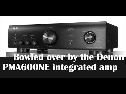 Review: The almost too good to be true $399 Denon PMA-600NE integrated amp