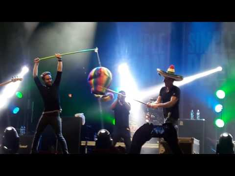 Simple Plan - I'm Just A Kid CDMX 2016