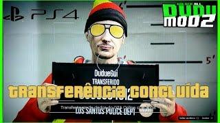 GTA V - COMO TRANSFERIR CONTA MODDED PARA O |PS4|