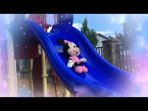 Thumbnail: Playground Fun With Disney Junior Minnie Mouse Doll Toy | Cute Little Girl | Playground Song