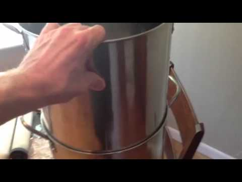 Make your own Berkey water filter - YouTube